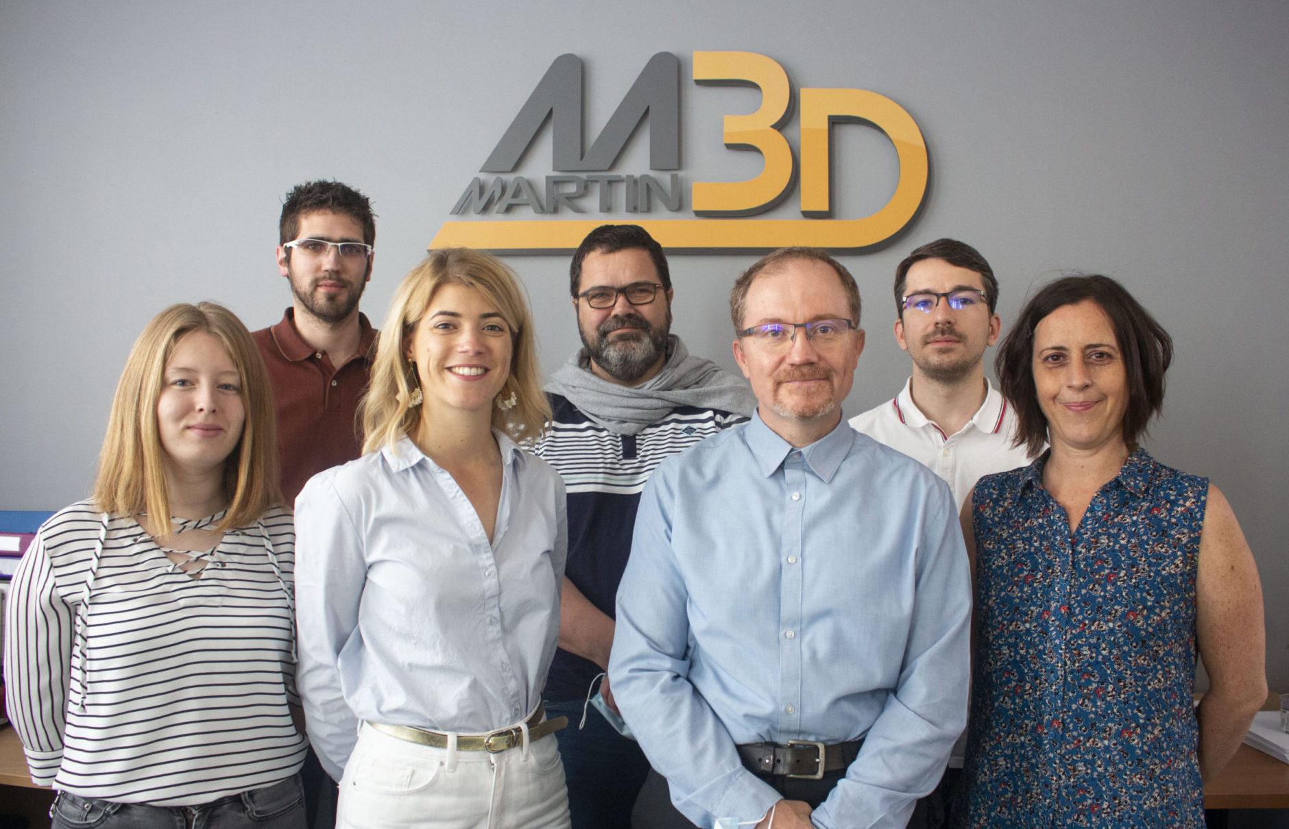Martin 3D équipe